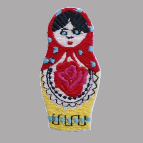 Russian Doll Badge