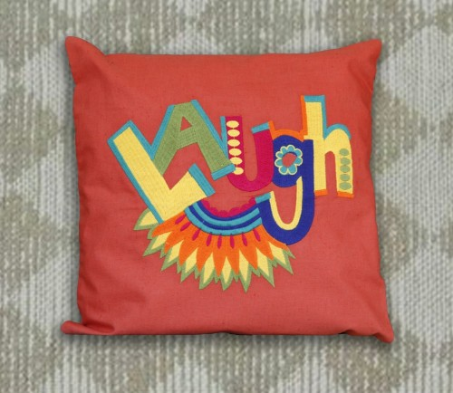 Laugh Cushion cover