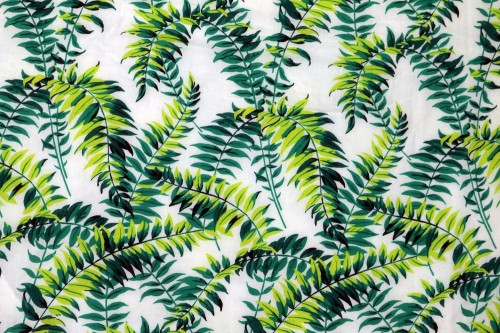 Green Jungle print Single Dohar